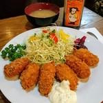 フィレンツェ - カキフライ定食