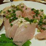 居酒屋公民館 - 料理写真:鶏刺し