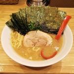 78977636 - のりラーメン820円(ラーメン720円+海苔100円)麺硬め。