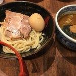 三田製麺所 - 2018/1/4 ランチ利用。 半熟玉子チャーシューつけ麺ランチ(並)(950円)