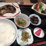 天神 わっぱ定食堂 - 天神焼き魚定食