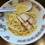 78979490 - 牛ホルモンつけ麺 900円、チャーシュー 250円