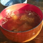 緑水門 - 味噌汁