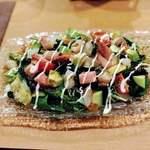 和牛 旬菜 一颯 - 魚介とアボカドのサラダ