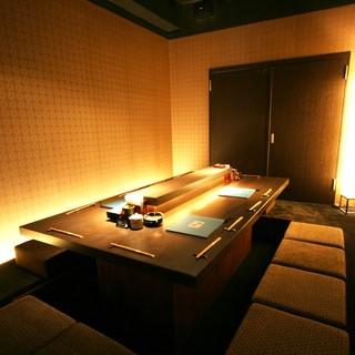 ◇女子会◇洗練された個室空間は女性にも人気