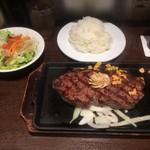 いきなりステーキ - US産アンガス牛サーロインステーキ300g