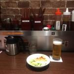 いきなりステーキ - サラダが先着