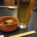 すしざんまい - 生ビール(アサヒスーパードライ)