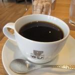 緑と風の珈琲館 ウミノ - ランチの最後は一杯づつ丁寧にドリップされたホットコーヒーをいただいてこの日のランチは終了です。