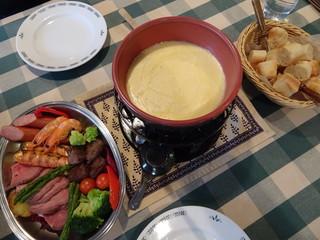 チーズワーフ - ウィンタースペシャルフォンデュ(2,800円/人)(2人前から注文)