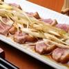 石臼挽きうどん しゅはり - 料理写真:鴨焼き