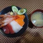 海ぼーず - 海鮮丼 1,100円