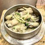 鳥ぎん - 牡蠣釜めし990円