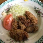竹山食堂 - カキフライは6個ありました