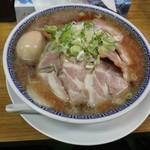 ラーメン大河 - 全部乗せ。ラーメン大河(名古屋市)食彩品館.jp撮影
