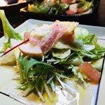 柊庵 - 3品目       いろいろ野菜のシーザーサラダ