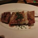 レガレガ - 串焼きで 豚バラスモーク×バルサミコソース