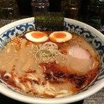 九段 斑鳩 - 旨辛煮卵ラーメン880円