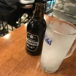 もつ焼きウッチャン - ホッピー(黒)