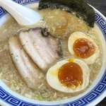 くり坊 - 煮卵ラーメン