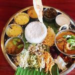 Spice&Dining KALA - ベジ+エビのスリランカカリー様♡