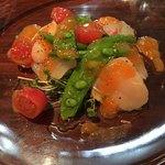 ルール ブルー - 料理写真:真鯛と帆立貝のカルパッチョ