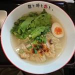 麺屋彩々 - 清澄鶏塩らーめん 780円