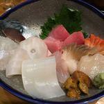 秋葉原旨い魚と焼酎.地酒 美味研鑽 TETSU - 刺身