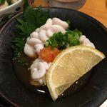 秋葉原旨い魚と焼酎.地酒 美味研鑽 TETSU - 白子ポン酢