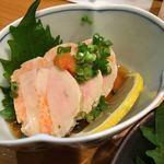 秋葉原旨い魚と焼酎.地酒 美味研鑽 TETSU - あん肝ポン酢