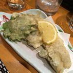 秋葉原旨い魚と焼酎.地酒 美味研鑽 TETSU - 牡蠣の天ぷら