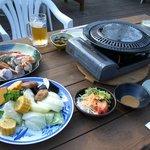 汐の湯温泉 - 料理写真:BBQセット(海鮮・ドリンク飲み放題付)