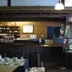 お菓子処 たんぽぽ - お店のカウンター