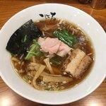 日本橋麺処こはる - 醤油らぁめん750円