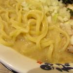 濃厚煮干しラーメン 麵屋 弍星 - 麺