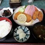 平食事処 - 料理写真:盛合セ定食 800円
