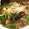 Shichifuku - 料理写真:正油野菜ラーメン(850円)