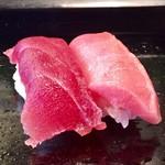 福鮨 - マグロ赤身&トロ