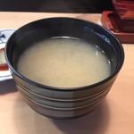 福鮨 - しじみの味噌汁