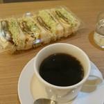 かつ丼と珈琲 聖 - コーヒー200円
