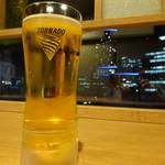 ドーミイン プレミアムカンダ - グラスの底から注がれるアサヒトルネード!