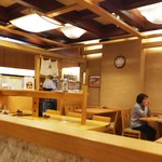 東京そば正家 - 店内の雰囲気
