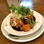 裏路地酒場 アジア麺 樹 - *黒酢酢豚(¥520)