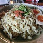 京飯場 罵力屋 - 塩つけ麺+煮玉子/めんや 風花 西院店(11:30~15:00)