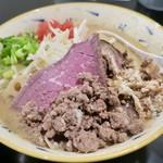 みそ味専門 マタドール - 「贅沢濃厚味噌らぁ麺」(1100円)
