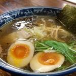 麺工房 隠國 - デフォの隠国醤油+燻玉