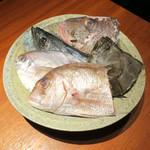 蕎麦と魚 銀平 - 迫力満点!!