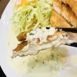 たんとと 和くら - チキン南蛮も美味しいんだけど、見た目は練り天みたいで、テーブルに運ばれた時は少しビックリ…( ;  ; )
