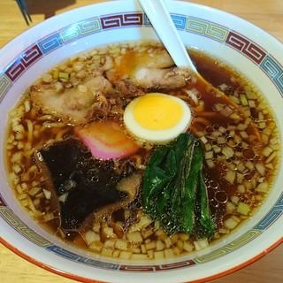 竹田の中華そば こっとん - 料理写真:中華そば