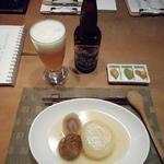 小田原おでん本店 - おまかせ3品と地ビール